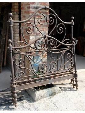 FOrged iron bedsteads