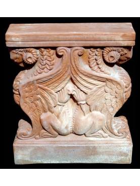 Piedi per tavolo in terracotta