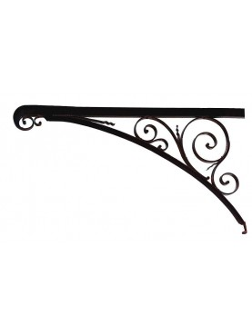 Large Forged iron brackets 160cm