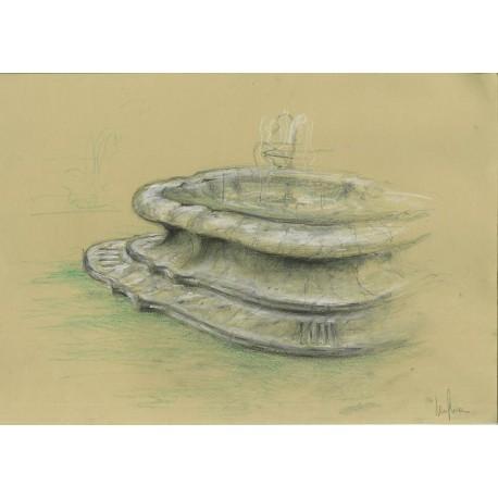 Fontana semicircolare