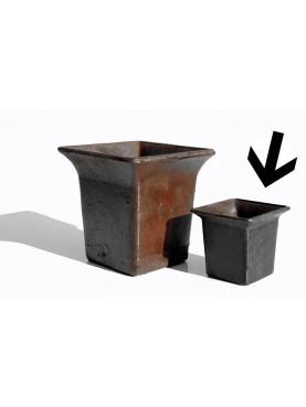 Flared greenhouse pot