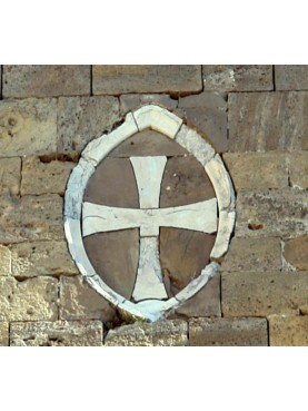 Marble and Stone Medieval Templar Cross