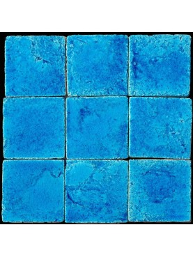 Piastrella Marocchina blu di Metilene puro