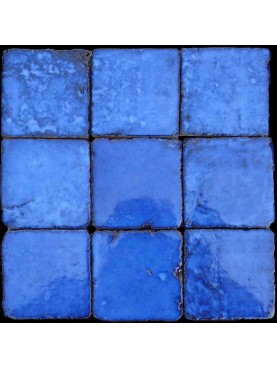Piastrella Marocchina blu di Orano