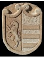 Stone coat of arms