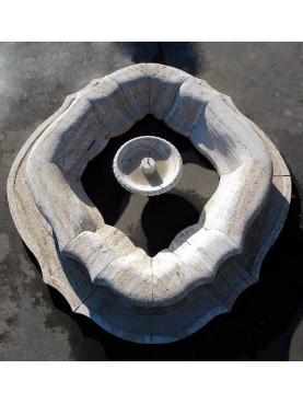 Fontana semicircolare in 28 pezzi