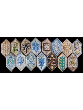 Reinassance lozange tiles