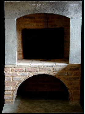 Kitchen fireplace of Our production