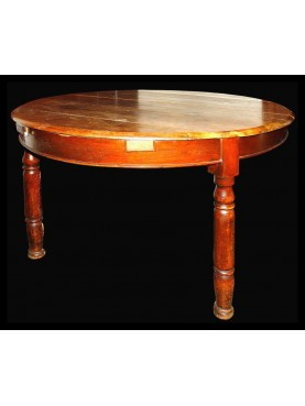 Tuscan Oval table walnut-tree
