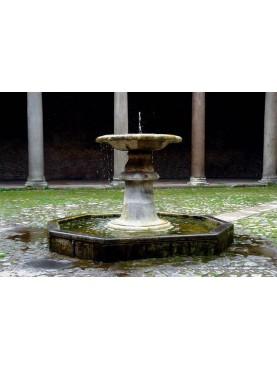 La fontana della Chiesa di San Clemente a Roma
