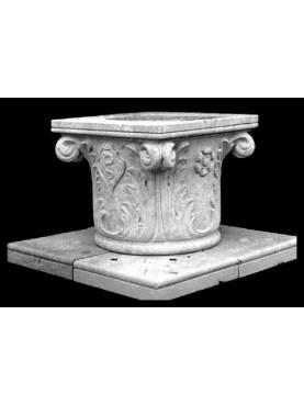 Pozzo in pietra svasato veneziano
