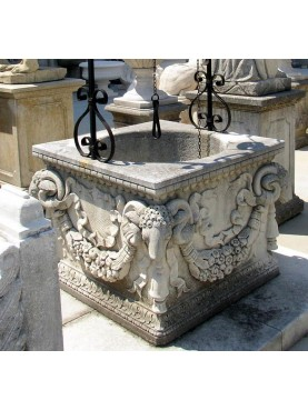 Baroque stone well