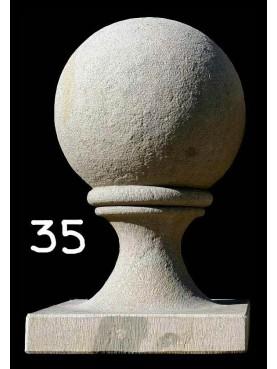 Sfera con base monoblocco diametro 35 cm