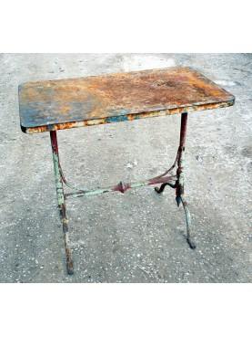 Piccolo tavolino in ferro 90CM