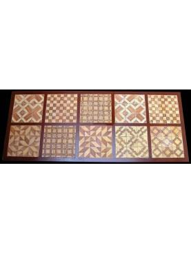 Grande tavolo minimalista in ferro