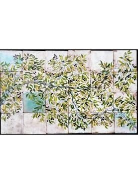 Olive tree panel