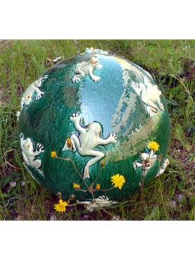 Majolica spheres Ø40cms