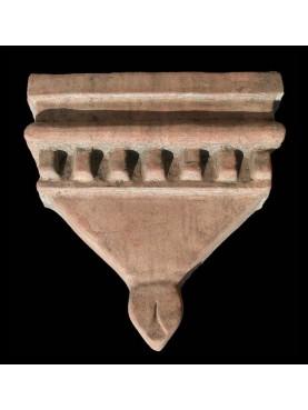 False Romanesque terracotta capital