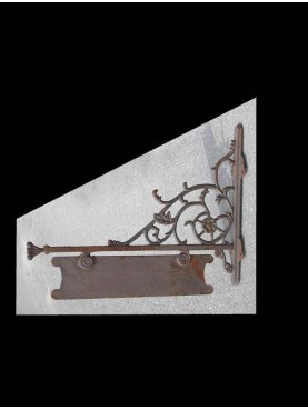 Cast iron brackets 80cms
