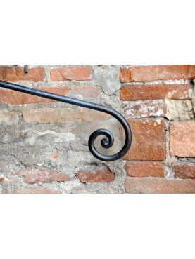 forged iron handrail