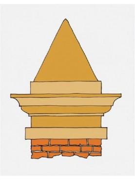 Pyramids of Castiglion del Bosco