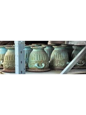 Little cast iron vase