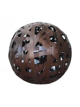 Lampadario Sfera metallica diametro 44 cm