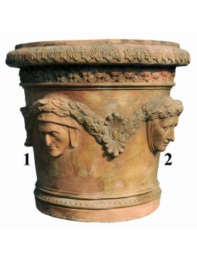 La Conca dei 4 poeti vaso da limoni in terracotta
