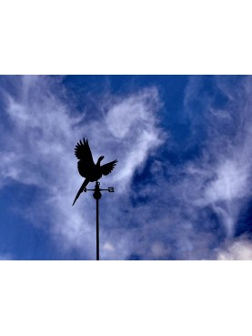 windvane Pheasant weather vane copper