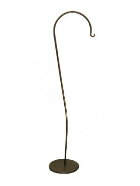Forge iron lantern holder