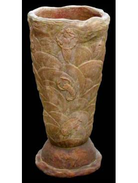 Terracotta Decò vase