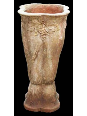 Vaso Decò in in terracotta