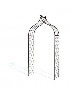 Archetto Isfahan ferro battuto disegno islamico