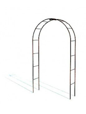 All-round Arches wrought-iron headband for rose tunnels, climbing plants, etc.