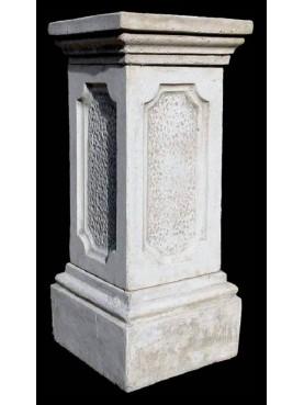 Cement base H.100cms/40x40cms