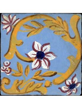 Historical Majolic tile