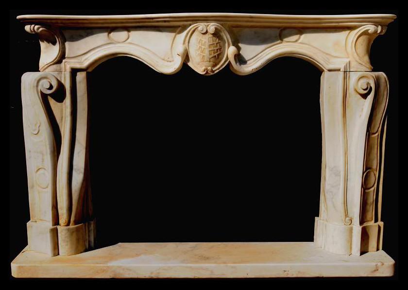 Camino In Marmo Bianco : Florence mosaic caminetto marmo bianco afyon e marmo salome