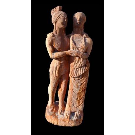 Etrusca statue in terracotta
