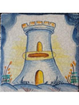 Riproduzione di piastrella siciliana