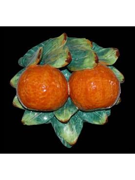 Aranci con foglie