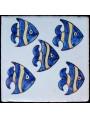 Piastrelle Berbere pesci 9,5x9,5cm