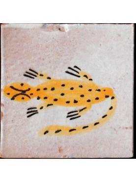 Piastrelle Berbere 9,5x9,5cm salamandre