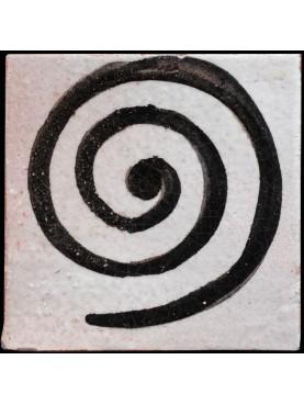 Piastrelle Berbere 9,5x9,5cm la spirale