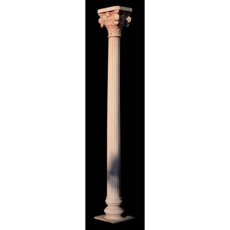 Colonna di Ghisa scanalata