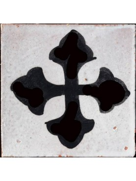 Manganese Berber Tiles 9,5x9,5cms