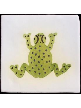 Berber Tiles the Frog
