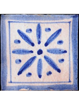 Piastrelle Berbere Blu Cobalto 9,5x9,5cm