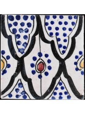 Piastrelle Berbere 9,5x9,5cm con disegno islamico