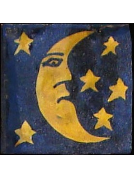 Berber Tiles 9,5x9,5cms Sahara night