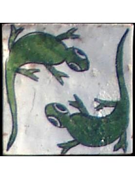 Piastrelle Berbere lucertola 9,5x9,5cm